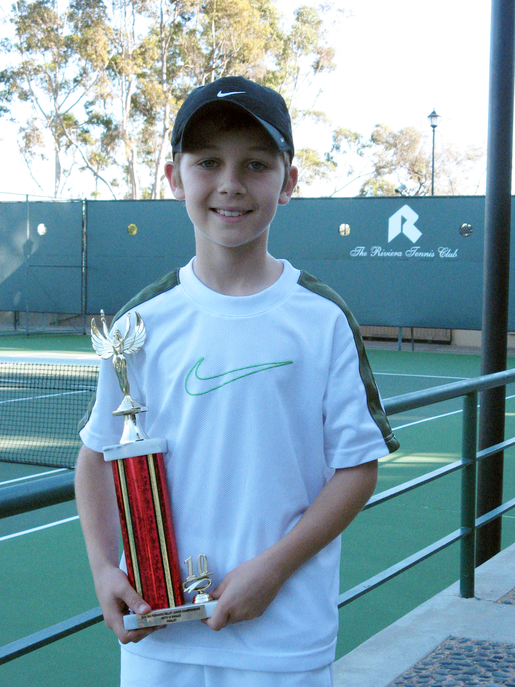 Blake Anthony Tennis Sawyer Romano Finalist Northridge